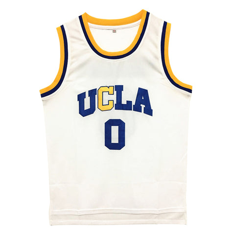 Russell Westbrook Throwback UCLA Basketball Jersey #0