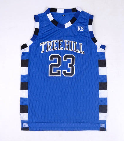 One Tree Hill Throwback Basketball Jersey Nathan Scott #23