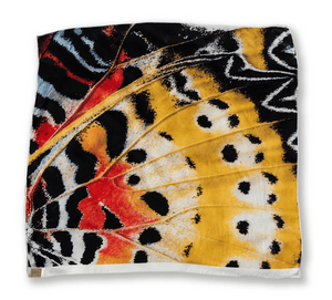 Painted Lady Butterfly Silk Scarf