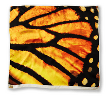 Monarch Butterfly Silk Scarf