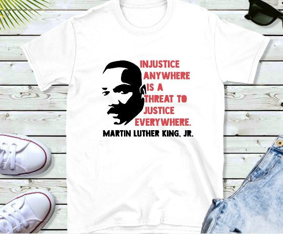 MLK Jr - Injustice
