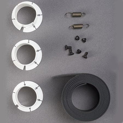 Repair Kit includes bushings, springs, clamp adhesive, screws, blade screws