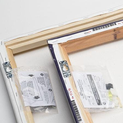 Picture Perfect - No-Wire Hanging System - Bulk Package (100 Frames)