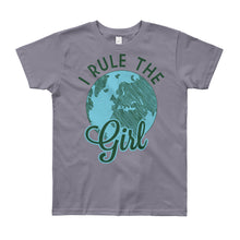 I Rule The Girl Big Girls' T-Shirt Created by LiveGirl