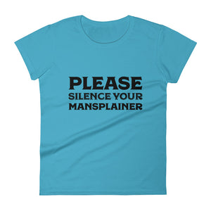 Please Silence Your Mansplainer