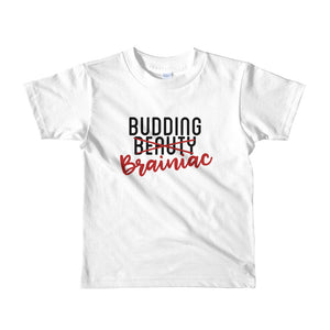 Budding Brainiac Little Girls' T-Shirt