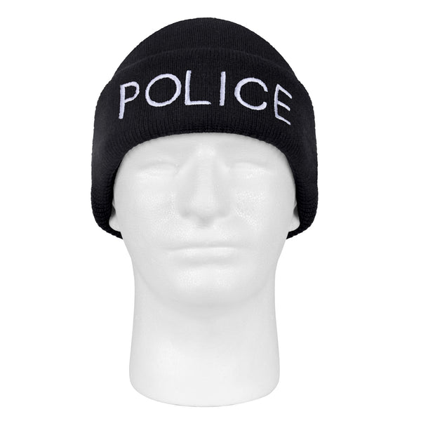 Rothco - Low Profile POLICE Winter Hat/ Toque