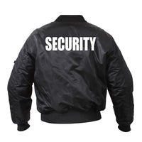"Guardian Bomber Jacket with ""SECURITY"""