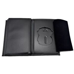 Dress Leather Badge Wallet