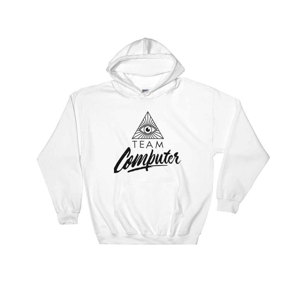 Team Computer Hooded Sweatshirt