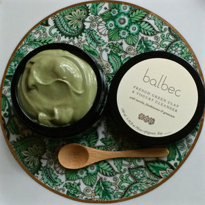 French Green Clay with Matcha, Frankincense, & Geranium