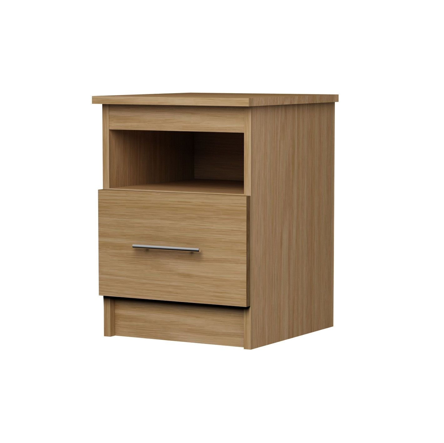 Bedside Table with Lower Drawer