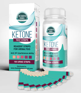 Ketone Test Strips - Professional High Quality Ketone Test Strips (100 Strips)