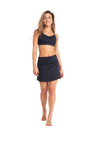 Parvati  Skirt Shorts, Black