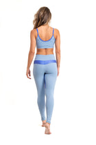 Durga  Leggings, Baby Blue