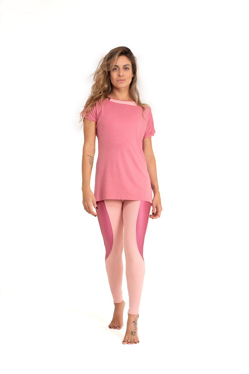 Durga  Leggings, Baby  Pink