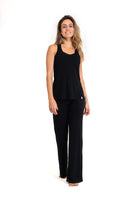 Bora-Bora Comfy  Pants  Black ( Natural Viscose)