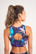 Gavea Top Indigo  Dream, Open back