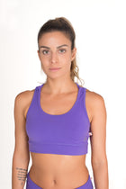 Cycling Cross back Top Lilac Soul regular fabric