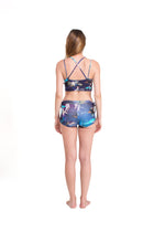 Cycling Cross Back Top Indigo Dream