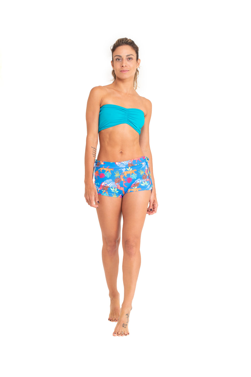 Bandeau Top, Turquoise