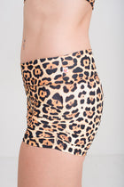 Gather Leg  Shorts, Jaguar