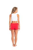 Side String Shorts, Fire Red