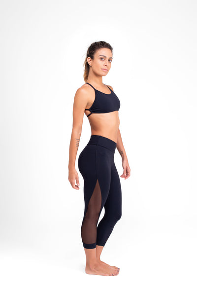 Mesh Legging Black Eco