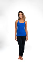 Weave Tank Top Royal Blue