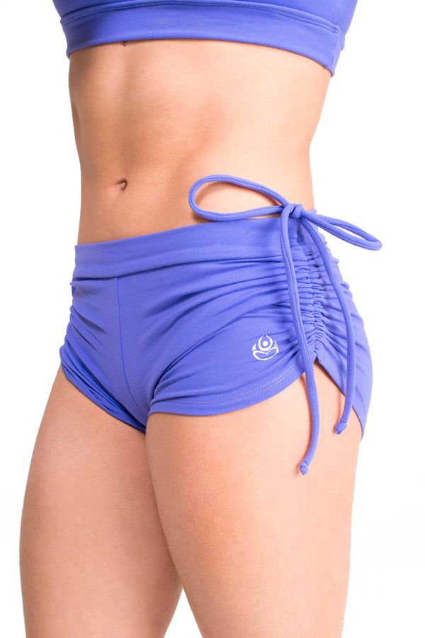 Side String Shorts  Lilac Soul