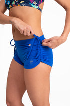 Side String Shorts,  Royal Blue