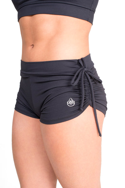 Side String Shorts Black Eco.