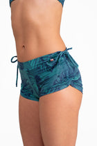 Side String Shorts, Healthy Green
