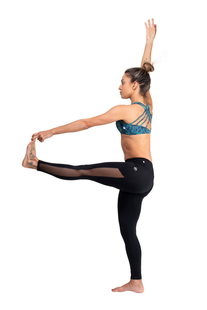 Vented  Legging,  Black  Cool Form Light Eco