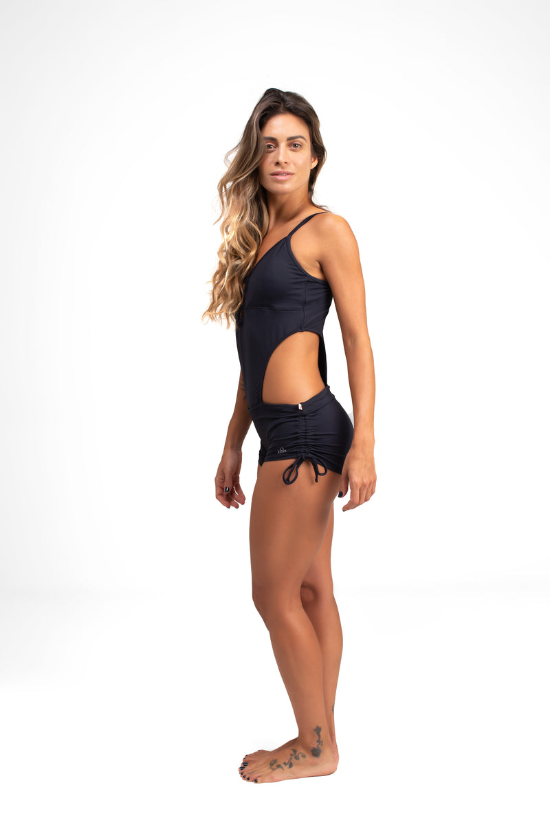 Carioca Short Unitard Black Cool From Light