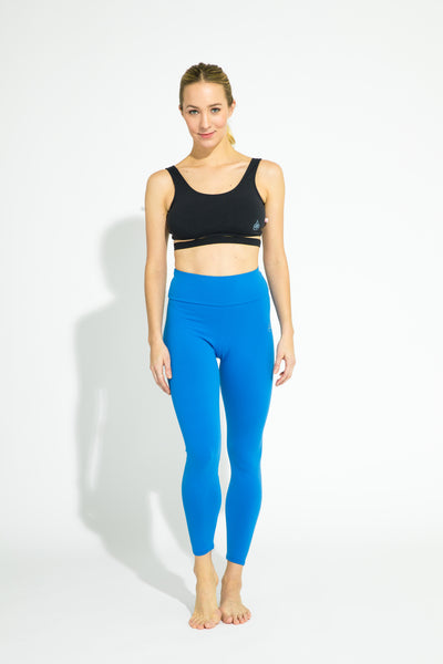 Mid-Rise Legging Royal Blue