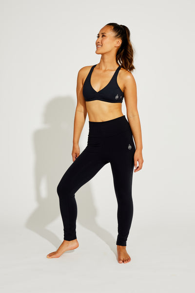 Mid-Rise Legging Black