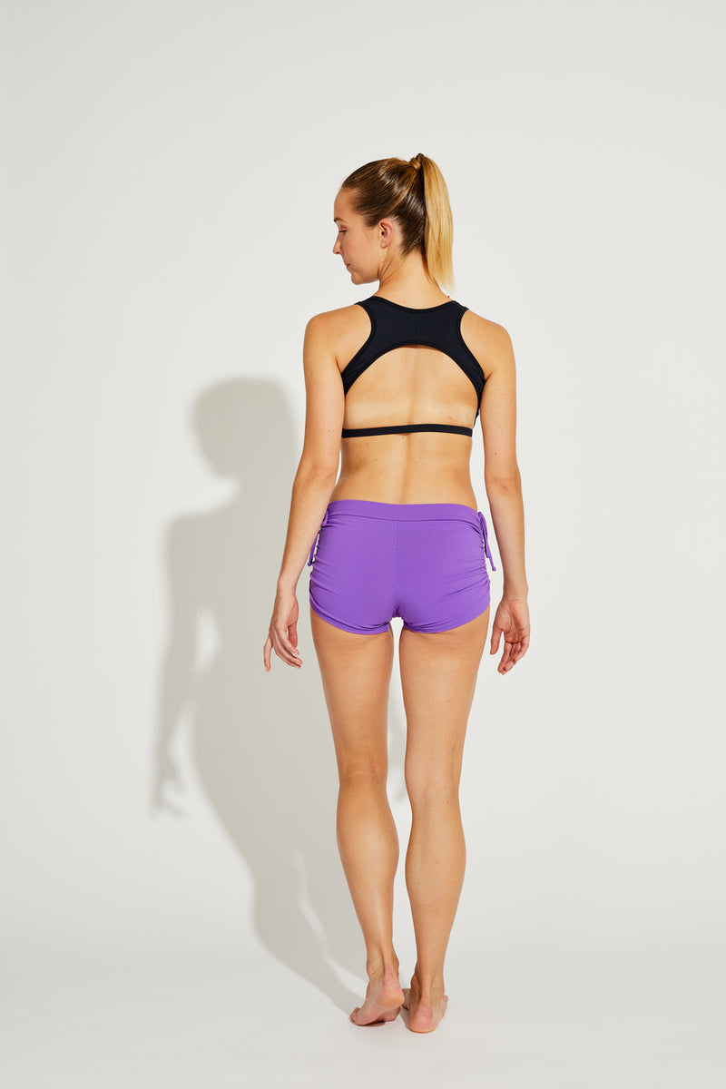 Side String Shorts Lilac