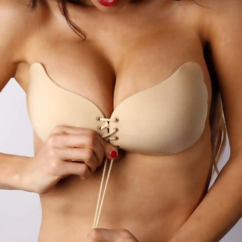 Invisible Push Up Bra