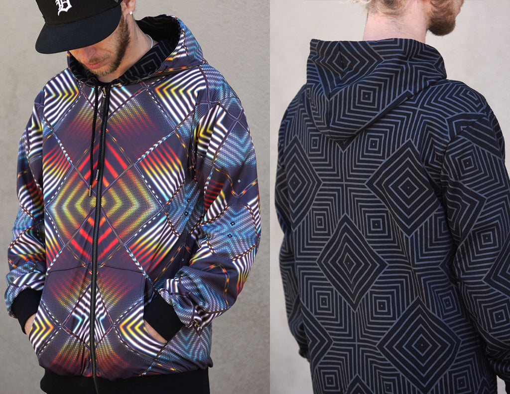 Tigris Reversible Hoodie Now Available From Threyda