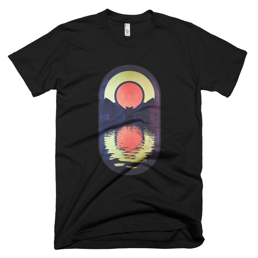 Black Lake Sunrise: Short Sleeve T-Shirt