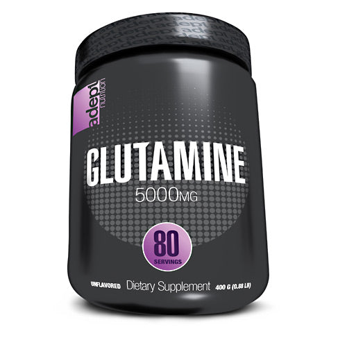 Adept Nutrition Glutamine - Unflavored - 80 Servings - 850850003313