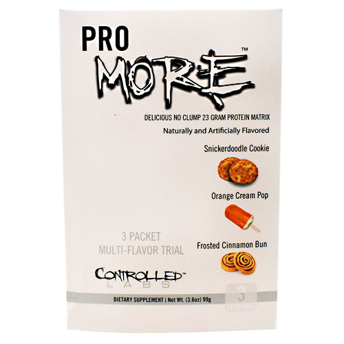 Controlled Labs PROmore Multi-Flavor Trial - 3 Packets - 856422005662