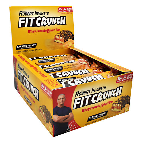 Fit Crunch Bars Fit Crunch Bar - Caramel Peanut - 12 Bars - 839138002668