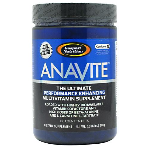 Gaspari Nutrition Anavite - 180 Tablets - 646511006980