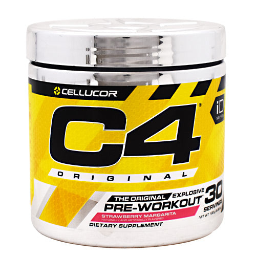 Cellucor iD Series C4 - Strawberry Margarita - 30 Servings - 842595104561