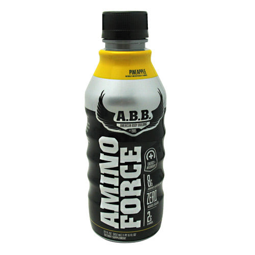 ABB Amino Force - Pineapple - 12 Bottles - 00045529890022