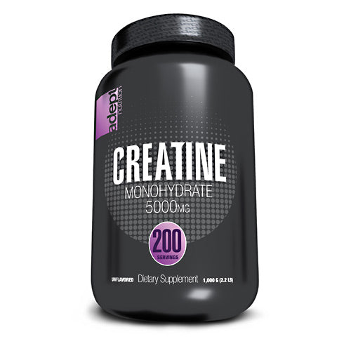 Adept Nutrition Creatine Monohydrate - Unflavored - 200 Servings - 850850003245