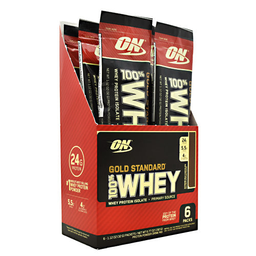 Optimum Nutrition Gold Standard 100% Whey - Extreme Milk Chocolate - 6 Packets - 748927959000