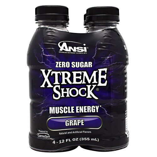 ANSI Xtreme Shock - Grape - 4 Bottles - 689570407411